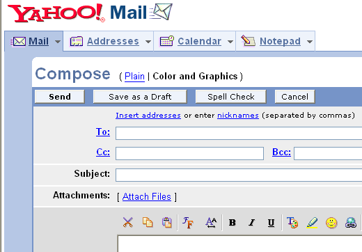 cant get into yahoo mail today